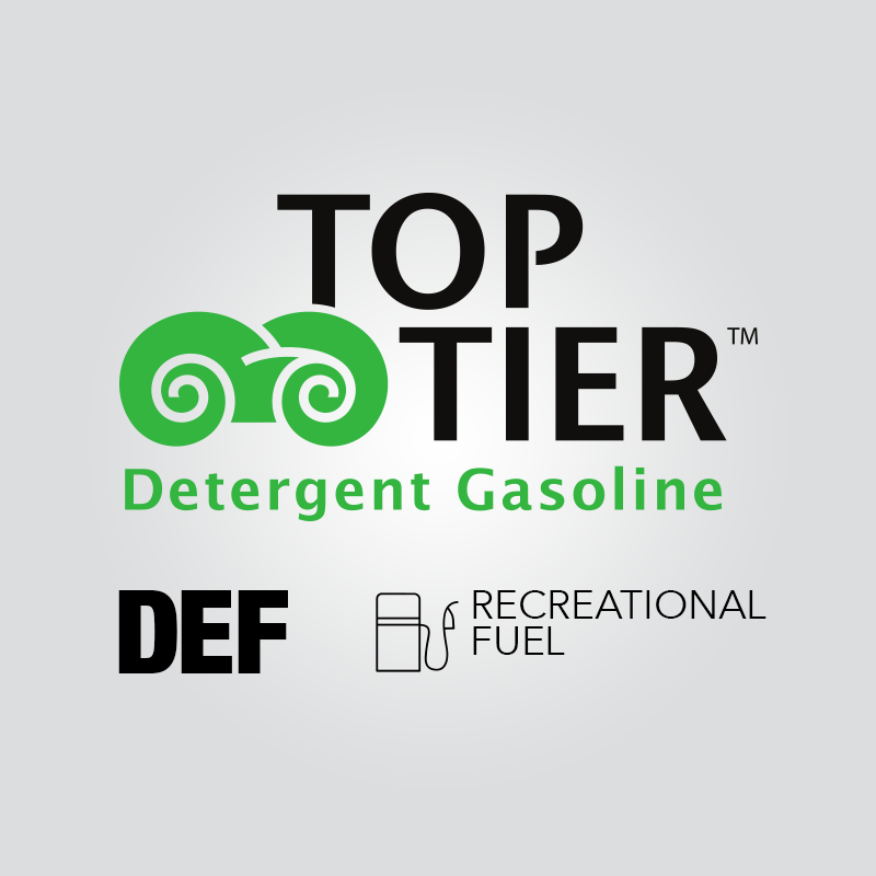 Top Tier Gas, DEF, and recreational fuel